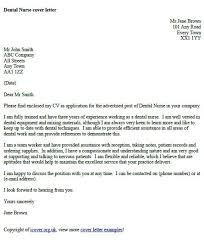 dental nurse cover letter example examples pinterest view the