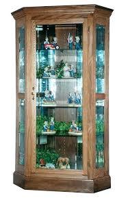 curio cabinet with light corner curio cabinet supremegroup co