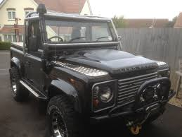 range rover defender pickup diary of a defender rebuild truck cab to county