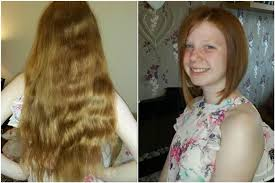 cut and inch off hair pontypridd 11 year old raises 1 000 for charity after cutting 15