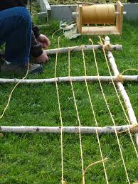 twine trellis step 3a yard and lawn pinterest growing beans