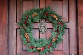 ideas for seasonal front door wreath the enchanted manor 2012 christmas front door wreath