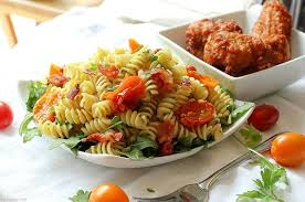 pasta salad with mayo easy gourmet blt pasta salad the chunky chef