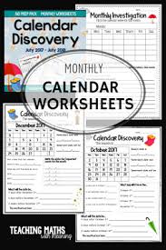 tips for teaching calendars teaching maths with meaning