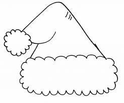 santa hat coloring pages inspirational 8261