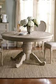 distressed dining table diy black round india white and chairs