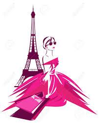 taschen design mode shopping in design schöne frau tragen rosa kleid mit