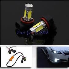 audi a6 fog light bulb 2x high power 7 5w h11 white drl fog light led bulbs for audi a6 c6