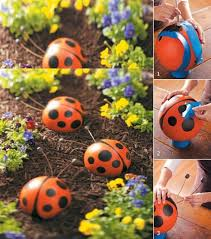 How To Find Ladybugs In Your Backyard 30 Diy Garden Art Ideas To Enjoy This Spring Diy Cozy Home