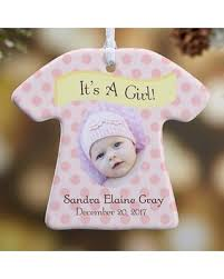 amazing deal on 1 sided it s a boy or photo ornament