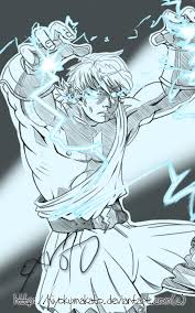young zeus battle sketch by hiyokumakato on deviantart