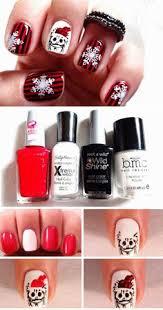 20 diy christmas nail art ideas for short nails nail art nail