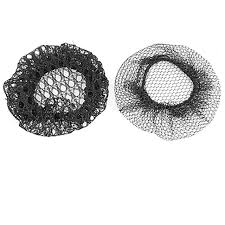 hair nets for buns make hot new 2pcs black ballet skating bun cover elastic