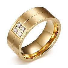 new mens rings images The new men 39 s ring 18k gold titanium ring wedding jpg