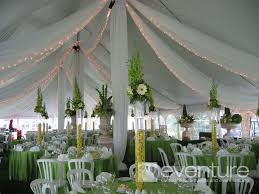 tent draping tent liners draping from eventure designs toronto