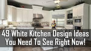 White Kitchen Design Ideas 49 White Kitchen Design Ideas You Need To See Right Now Youtube