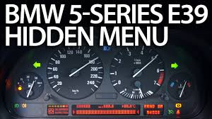 bmw 5 series dashboard bmw e39 obc hidden menu diagnostic mode mr fix info