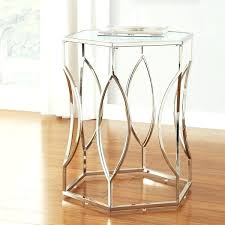chrome glass end tables chrome end tables modern chrome glass wood coffee table set chrome