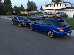 subaru rsti wagon my first subaru 2007 wrx wagon just in time for wagon wednesday