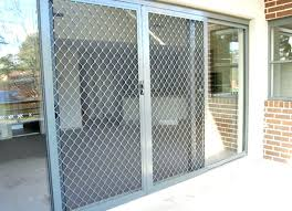 How To Secure Patio Doors Security Bars For Sliding Door Sliding Patio Door Security Bar In