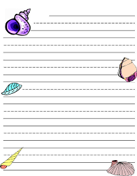 printable animal lined paper writing paper printable for kids kiddo shelter