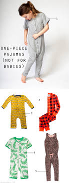 style one pajamas not for babies the