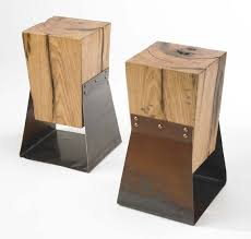 reclaimed wood end table items similar to reclaimed wood and farm metal end table on etsy