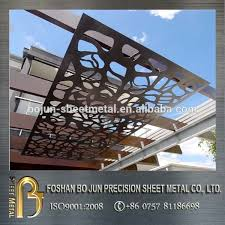 outdoor decorative screens decorative metal panels exterior steel