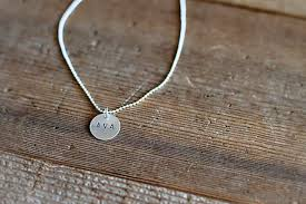 silver necklace diy images Easy diy hand stamped jewelry jpg