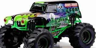 monster jam grave digger remote control truck new bright 1 10 rc radio control 9 6v monster jam grave digger