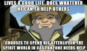 Legend Of Korra Memes - so good guy iroh made an appearance in legend of korra i thought