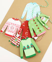 sweater card tags found on damask