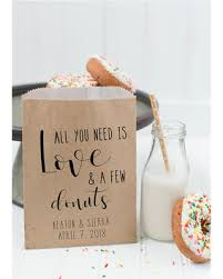 wedding treat bags get this amazing shopping deal on donut favor bag wedding favor