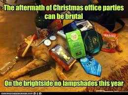Christmas Party Meme - the aftermath of christmas office parties can be brutal lolcats