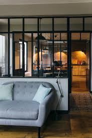 cuisine style indus cuisine style loft industriel 4 nuances de bleu amp style