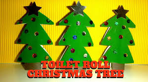 christmas craft toilet paper roll christmas tree toilet paper