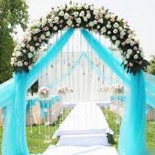 0 72 50m sheer mirror organza roll wedding chair sash bow table