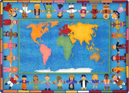 Kid Area Rugs Around The World Area Rugs Learner Supply