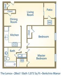 The Lenox Floor Plan Berkshire Manor Rentals Carrboro Nc Apartments Com