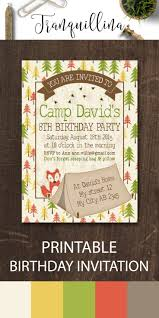 halloween invitations party city 25 best camping birthday invitations ideas on pinterest camping