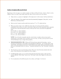 13 microsoft word outline template authorizationletters org