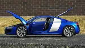 Audi R8 Jet Blue - audi r8 5 2 fsi v10 youtube