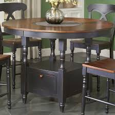 long counter height table largo phillip counter height table w lazy susan olinde s