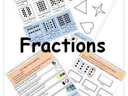 y2 fractions week editable differentiated 15 x worksheets