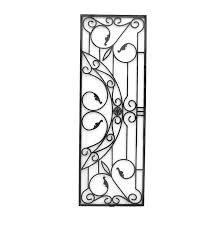 Decorative Wrought Iron Panels Equalvote Co For Decor 3 Mprnac