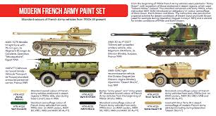 modern military vehicles modern french army paint set hataka