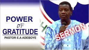 pastor e a adeboye sermon rccg january 2018 thanksgiving service
