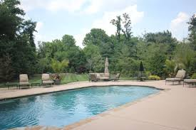 in ground pools st louis mo poynter landscape
