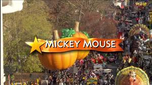 the start of the 2011 macy s thanksgiving parade