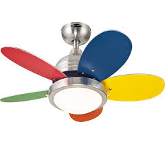 Westinghouse  Roundabout Brushed Nickel Kids  Ceiling - Kids room ceiling fan